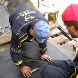 Rad na terenu - spajenje trake